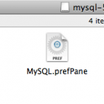 Install components for MySQL