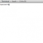 Reset Forgotten Admin Password OSX 10.9 Mavericks