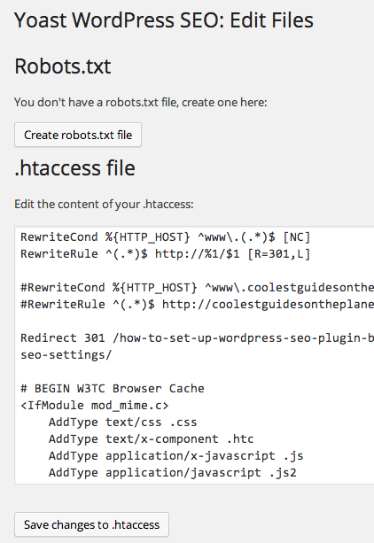 yoast-edit-htaccess-robots