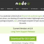 Installing node.js on OSX 10.11 El Capitan