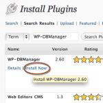 How to backup your WordPress mysql database