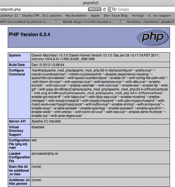 php-module-configuration