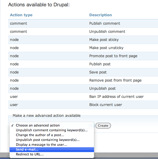 create-action-email-drupal