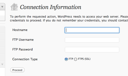 wordpress-upgrade-permissions-error