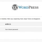 Fastest Way to install WordPress on OSX 10.11, 10.10, 10.9, 10.8, 10.7 and 10.6