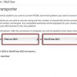 Changing WordPress SEO Plugins from Platinum SEO to Yoast SEO