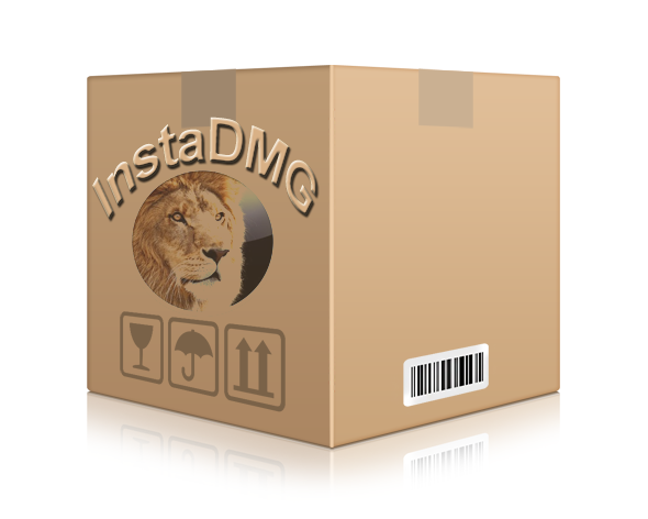 instadmg mac lion osx 10.7 bootable image