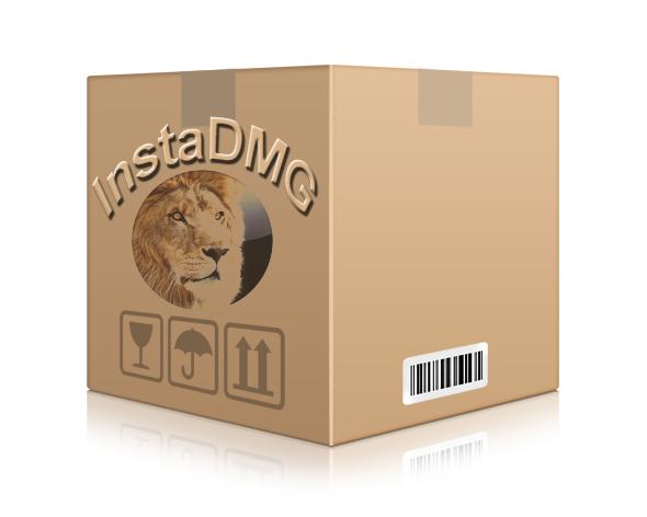 instadmg mac lion osx 10.7 bootable image