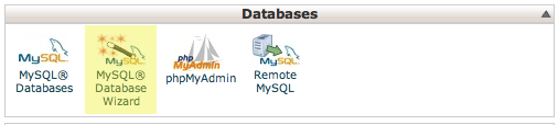 database-wizard-cpanel