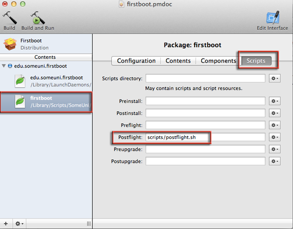postflight-script-packagemaker