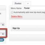 Adding a Footer Menu to Twenty Eleven Theme WordPress