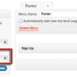 Adding a Footer Menu to Twenty Eleven Theme WordPress