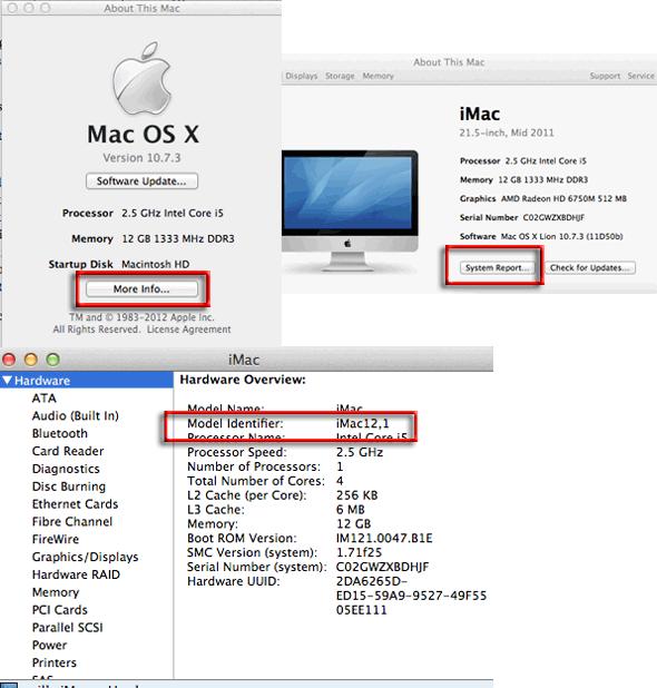 Mac model-identifier