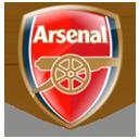 arsenal epl twitter hashtag icon badge