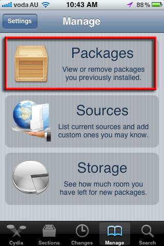 cydia-manage-packages
