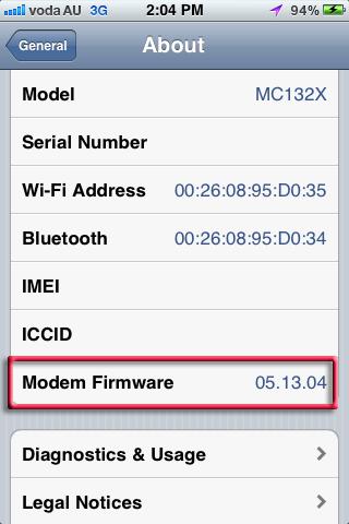 modem-firmware-baseband 05.13.04