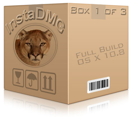 instadmg disk image mountain lion 10.8