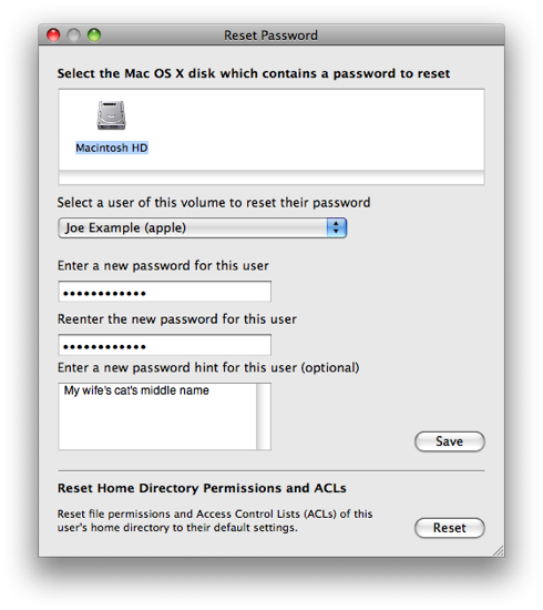 retrieve admin password on mac