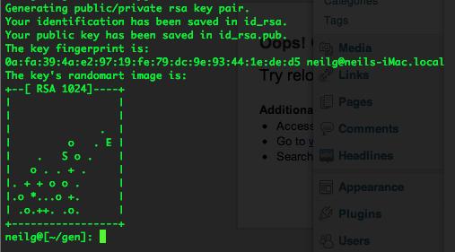 keygen-generate-ssh-keys