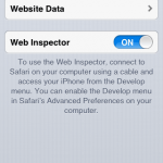 Viewing the Source Code on iPhone and iPads using Safari Webkit Development Tools