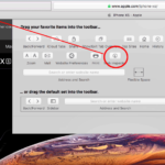 drag inspector into safari toolbar