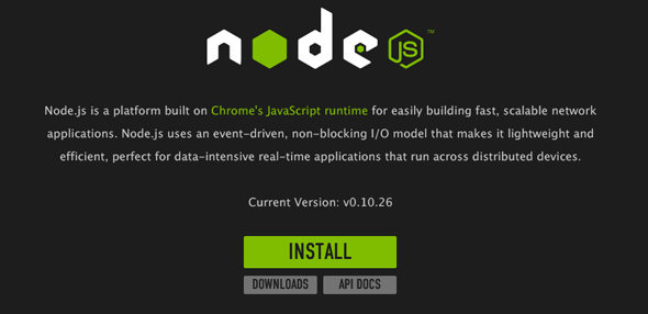 nodejs-osx-mavericks