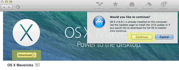 Download Full OSX 10.9.2 Installer