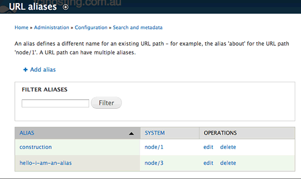 Set Up SEO in Drupal - Configure URLs, Page Title & Meta