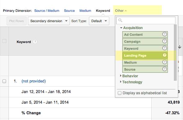 google-landing-page-comparison