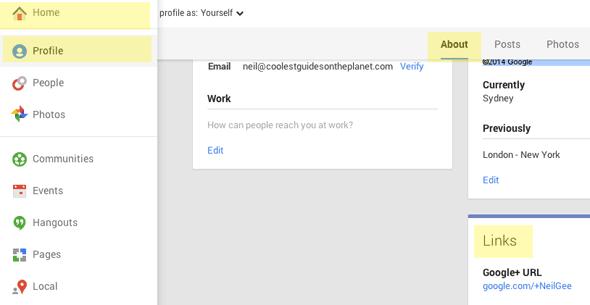google-plus-page-links