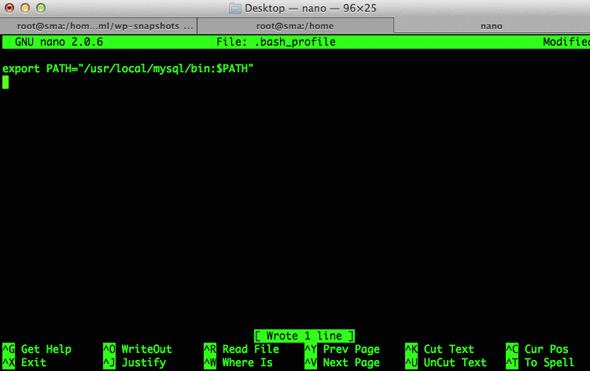 osx- shell path-modify