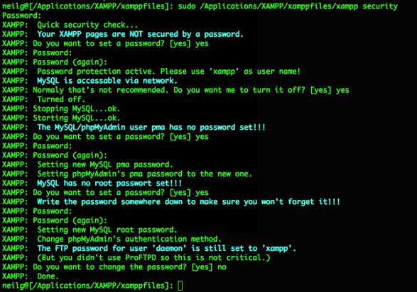 xampp-secure-password-terminal-set