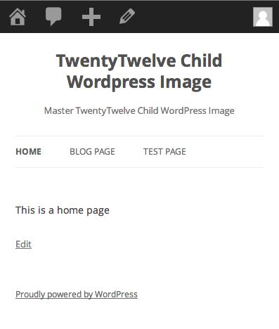 TwentyTwelve Responsive Menu Removed
