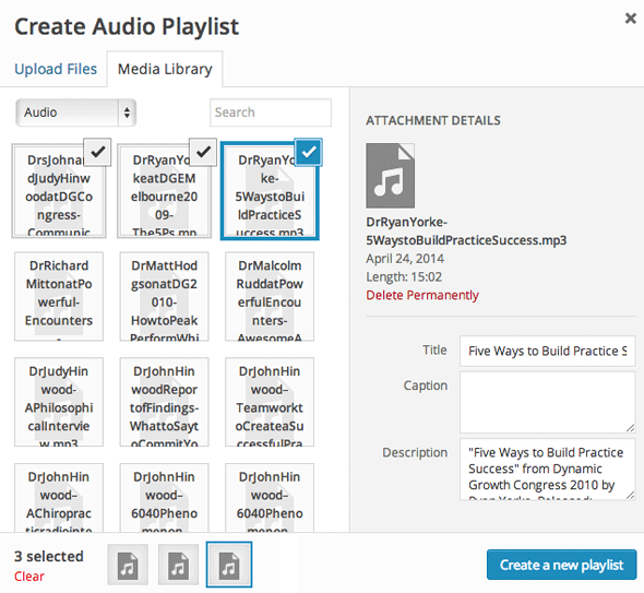wordpress-audio-playlist-create