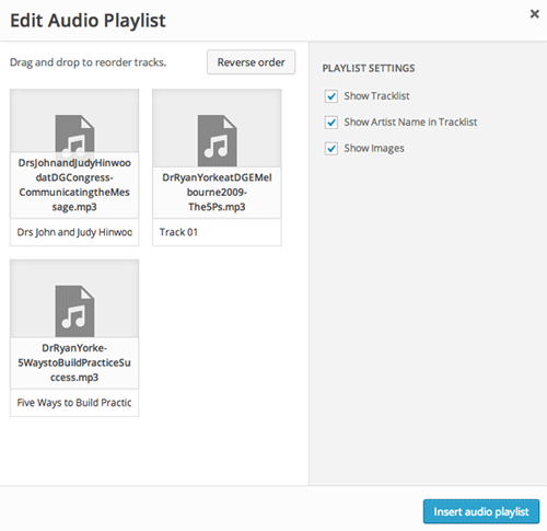 wordpress-audio-playlist-reorder