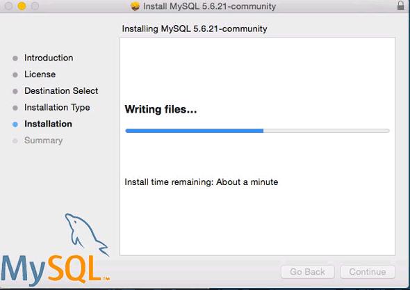 sudo /usr/local/mysql/support-files/mysql.server start