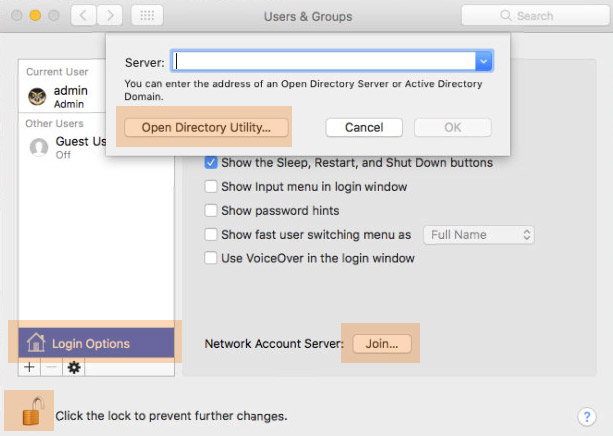 macos-directory-utility