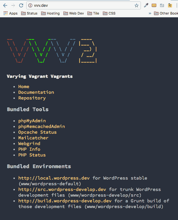 vvv2-dev-vagrant
